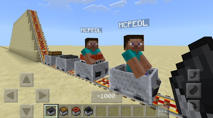 Мод Attraction Minecart 1.2.11
