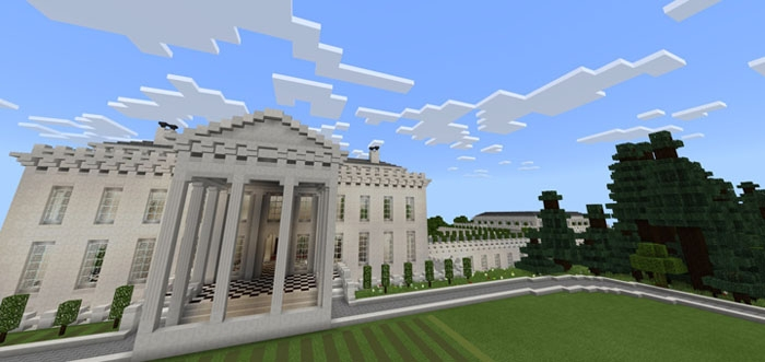 Карта A Minecraft White House [Творчество]