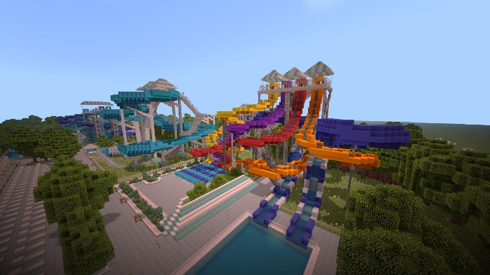 Карта Notch's Soak City Waterpark [Творчество]