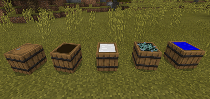 Мод Barrel Block Function (концепция) 1.7.0