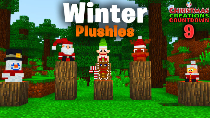 Мод SG Winter Plushies 1.8.0