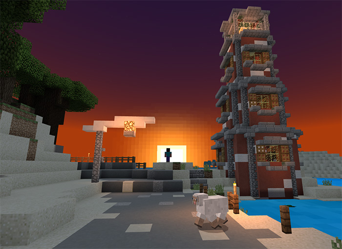 Текстуры Energy Shaders 1.10