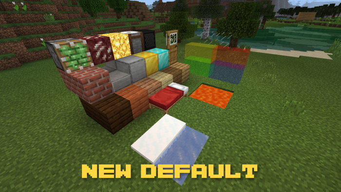 Текстуры Bettercraft – Various Improvements for Minecraft 1.8.0