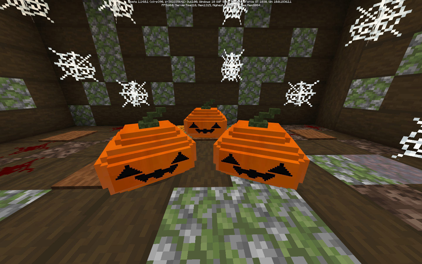 Мод Halloween Decorations 1.14