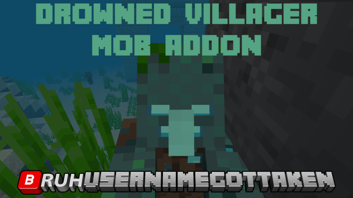 Мод Drowned Villager 1.16