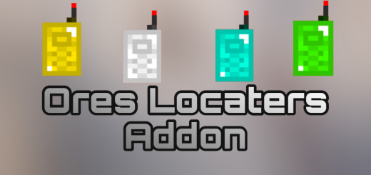 Мод Ores Locaters 1.16